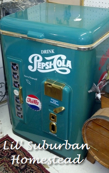 vintage pepsi cooler reproduction