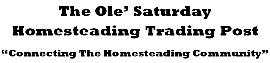 connecting the homesteading community