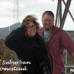 The Viking & I on the top of Frying Pan Tower