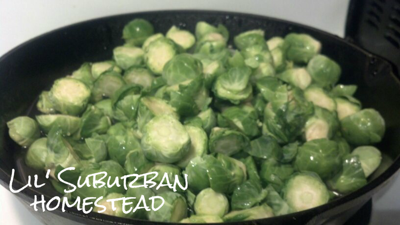 We love Brussel Sprouts!