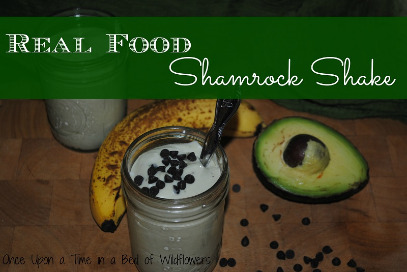 real food shamrock shake