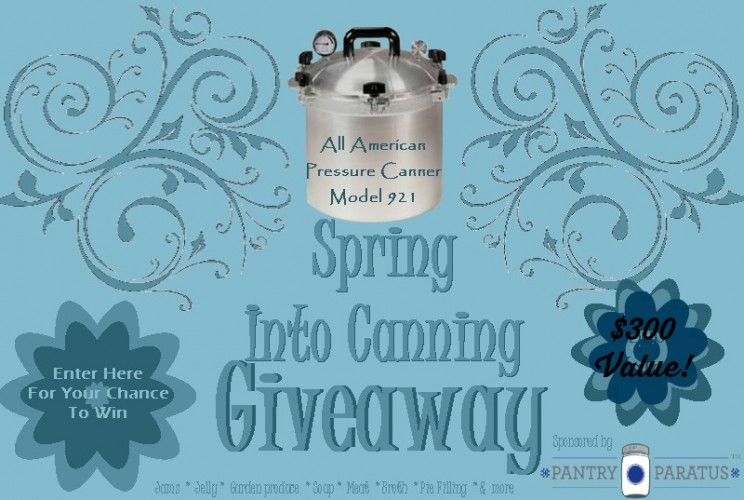 all american canning giveaway