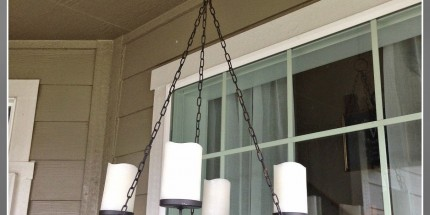 Little Brags Outdoor Chandalier