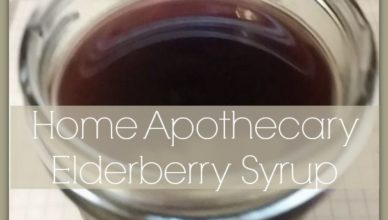 home apothecary elderberry syrup