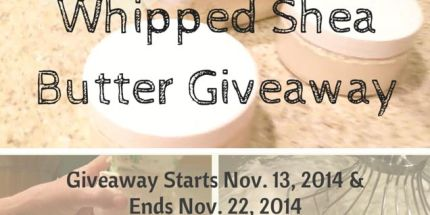 Whipped Shea Butter Giveaway (1)