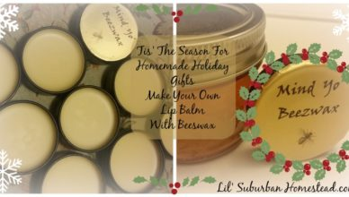 tis the season for homemade holiday gifts