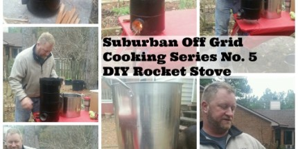 lsh rocket stove suburban off grid cooking series no. 5 diy rocket stove