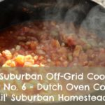 lsh suburban off grid cooking dutch oven cooking