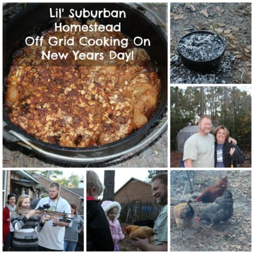 lsh off grid cooking on new years day