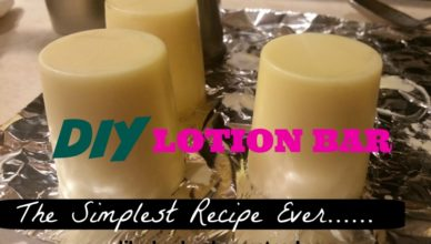 diy lotion bar