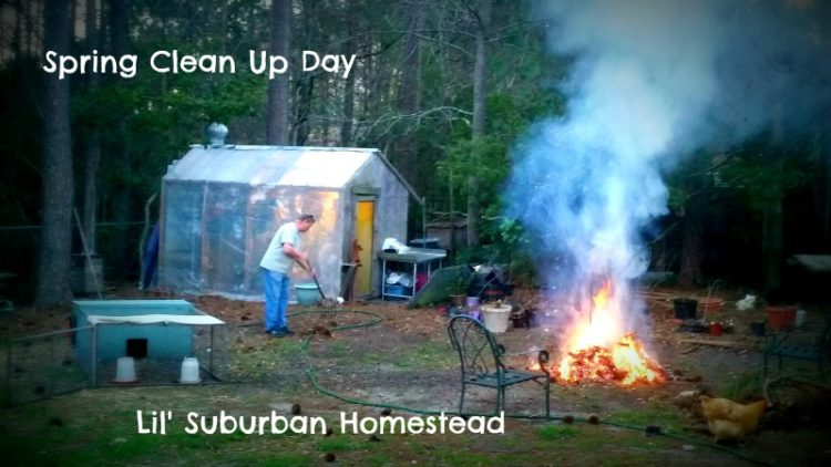 lilsubhomesteadspringcleanupday