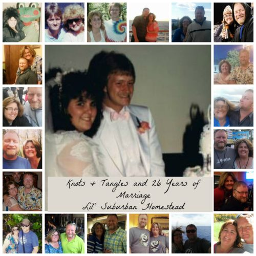 knots&tangles and 26 years of marriage