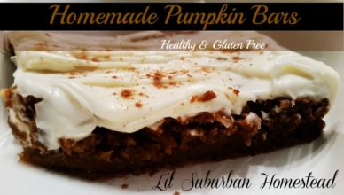 Pumpkin Bars - Lil' Suburban Homestead