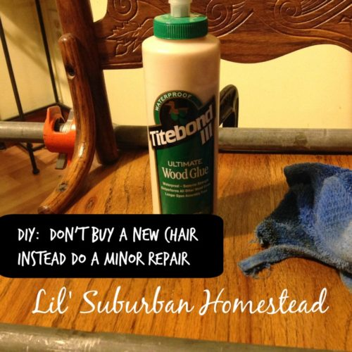 DIY: Don't Buy A New Chair Instead Do A Minor Repair