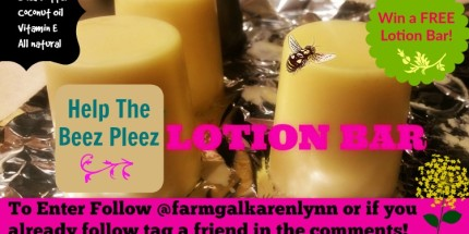 free lotion bar our 1st ever instagram challenge