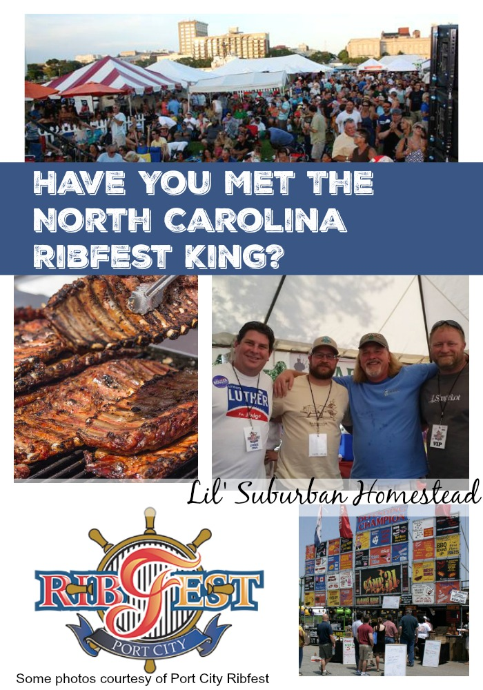 have you met the north carolina ribfest king?
