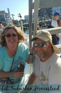 Me and The Viking on The Vonda Kay out of Wrightsville Beach.