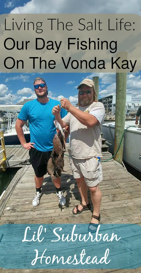 Our catch from fishing on The Vonda Kay out of Wrightsville Beach.