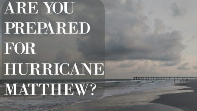 are you prepared for hurricane matthew