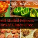 lil suburban homestead meatball stuffed peppers low carb and gluten-free