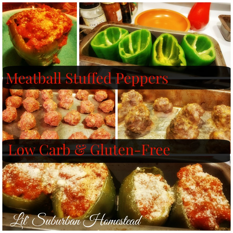 lil suburban homestead low carb meatballs
