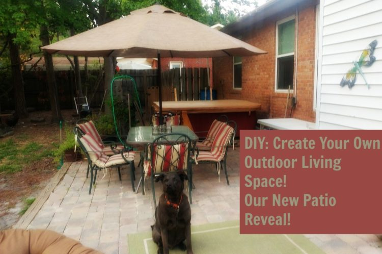 The reveal of our new diy patio!