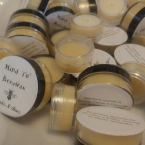 our mind yo own beez wax lip balms for sale