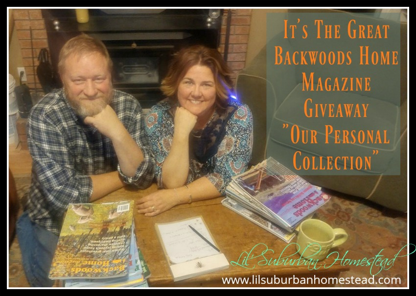 It's The Great Backwoods Home Magazine Giveaway: Our Personal Collection