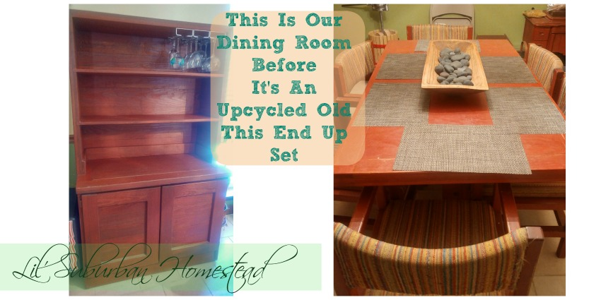 Our Dining Room Set Before Newest Project